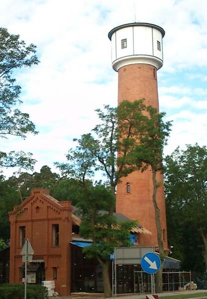 Wieża ciśnień z XIX wieku