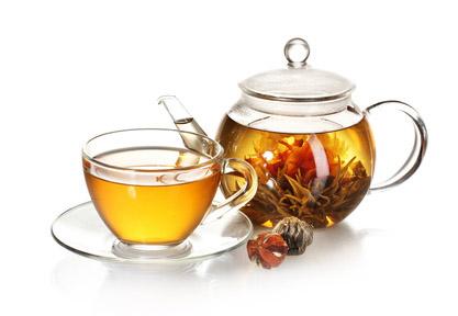 pięknie zaparzona egzotyzna herbata