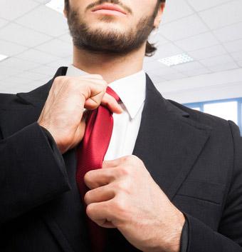elegancki krawat